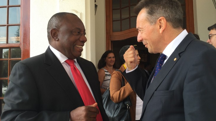 South Africa: Dialogue towards more effective humanitarian action