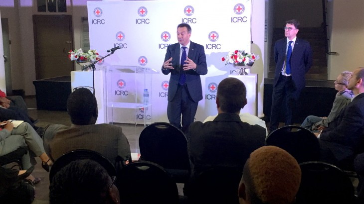 Speech by ICRC president at Constitution Hill, Johannesburg, South Africa