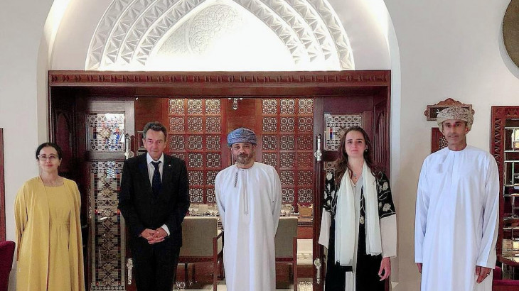 Oman: ICRC President Peter Maurer visits to reinforce humanitarian cooperation