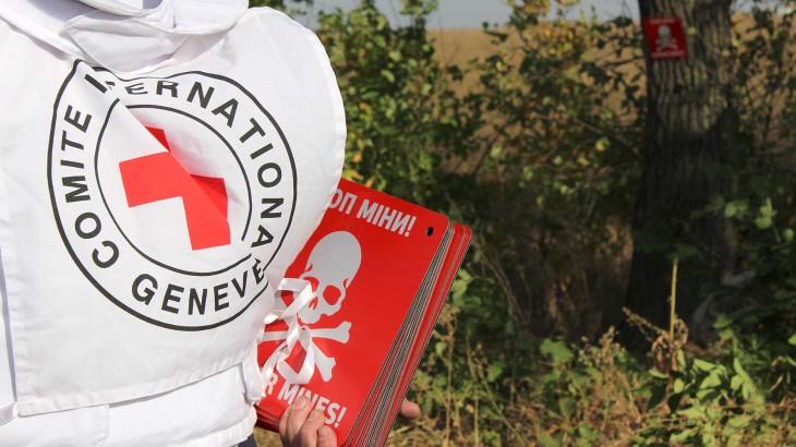红十字国际委员会正在开展哪些工作以减少武器污染的影响?
