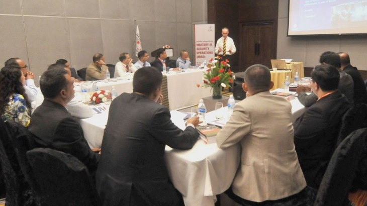 Nepal: South Asian military and police officers discuss challenges in security operations