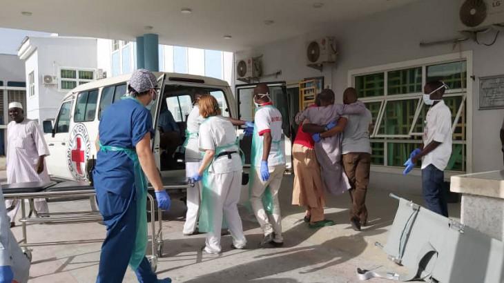 Einsatz-Update zum Anschlag von Monguno: 16 Zivilpersonen zur chirurgischen Behandlung nach Maiduguri evakuiert