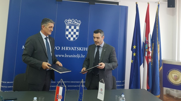 Croatia: Continuation of long-standing cooperation with the ICRC