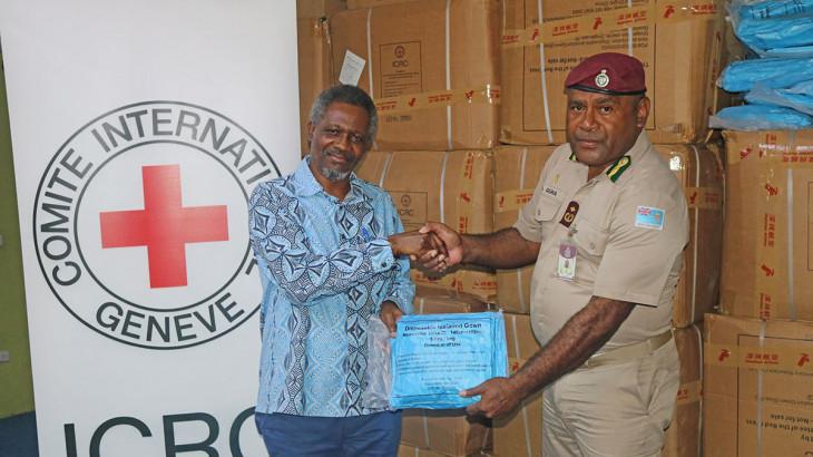 新冠肺炎疫情:斐济惩教署获得2万多件个人防护用品