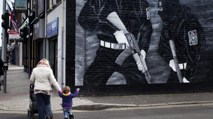What does the ICRC do in Northern Ireland?
