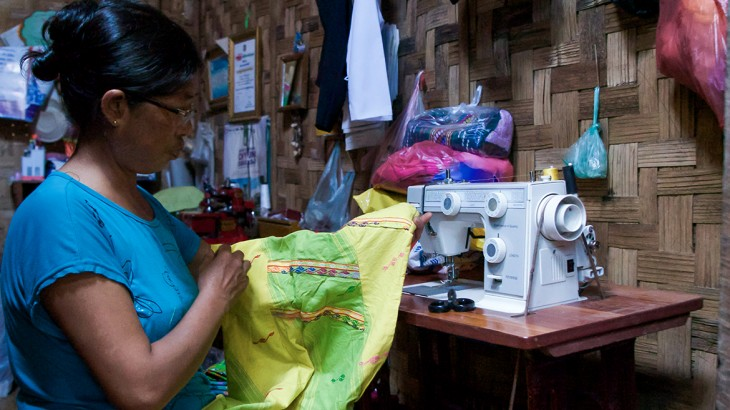 Myanmar: Picking up pieces and stitching a new life