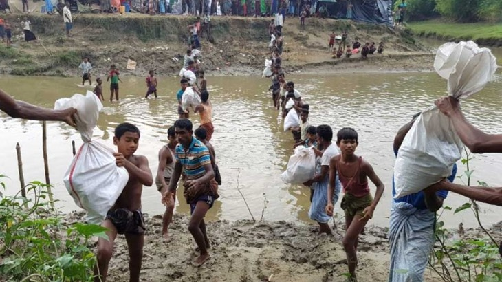 Myanmar: ICRC scales up aid for people fleeing violence