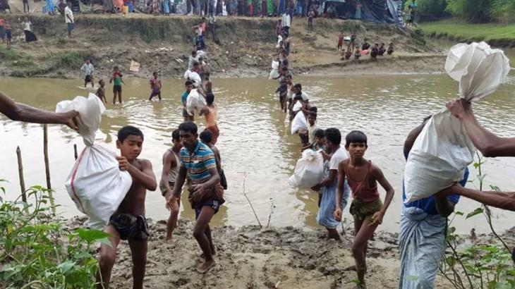 اللجنة الدولية تكثف مساعداتها للفارّين من العنف في ميانمار