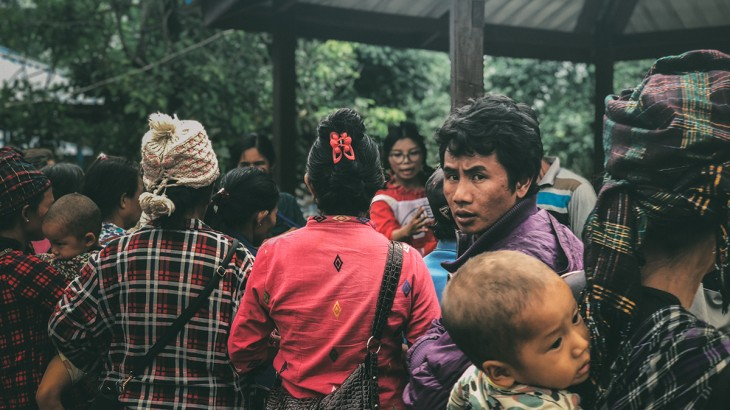 Myanmar: Babies on their back, young mothers trudge through jungles as conflict escalates in Kachin