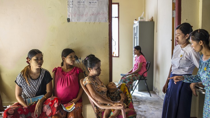 Rakhine: A clinic open to everyone