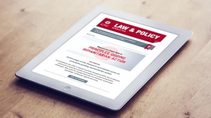 订阅法律与政策时事通讯