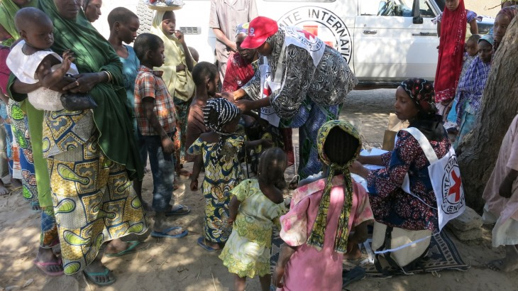 Niger: Massive food-aid project for people fleeing conflict in Nigeria