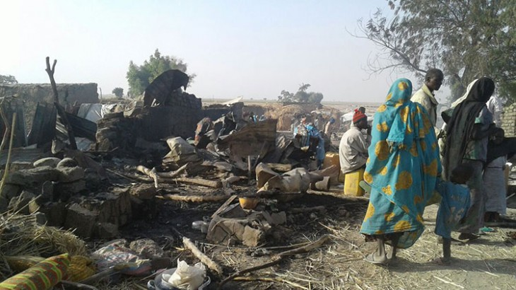 The International Red Cross and Red Crescent Movement deplores the deaths of civilians and six Nigerian Red Cross aid workers