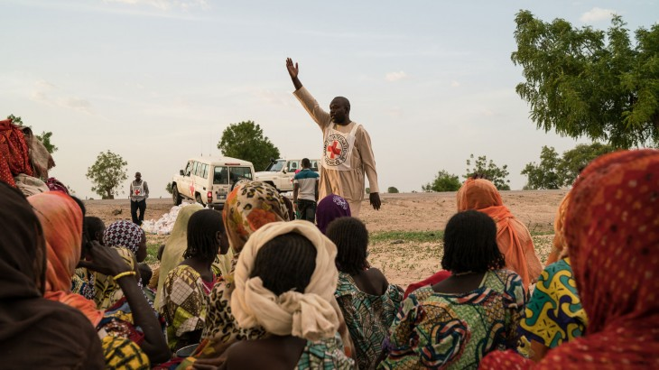 Delivering emergency aid to people affected by armed conflict in Nigeria