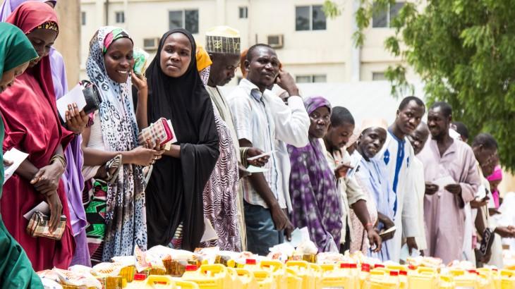 Jusqu'à un million de personnes auraient trouvé refuge à Maiduguri