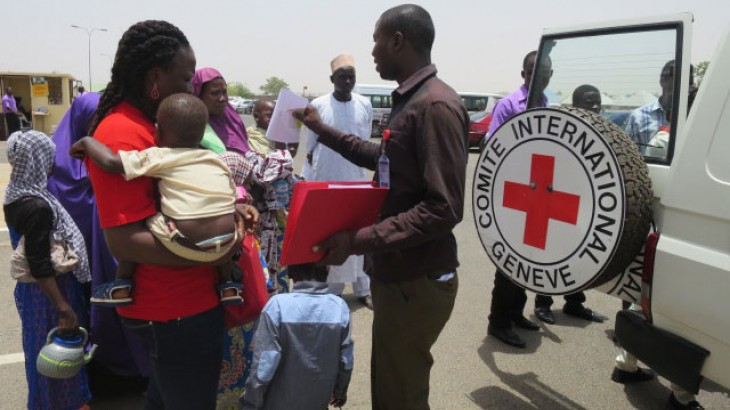 Nigeria: Three children forced to run from war reunited with family