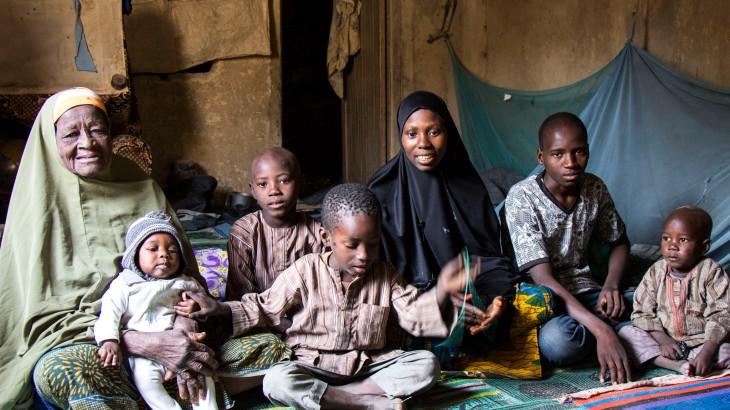 Нигерия: слезы радости при воссоединении с пропавшими родственниками
