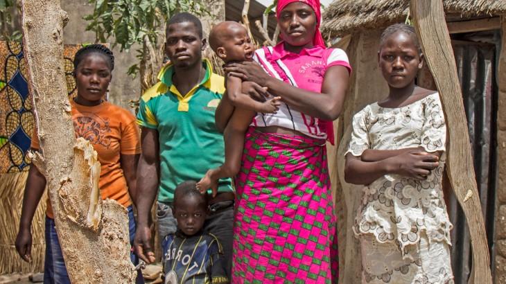 Nigeria: alimentos y agua