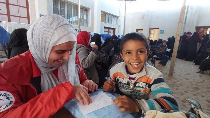 North Sinai: Egyptian Red Crescent and ICRC provide humanitarian assistance to 1000s of households