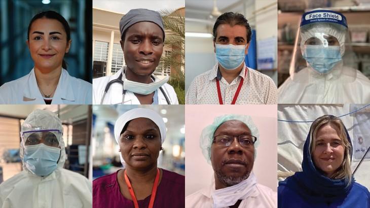 اليوم الدولي للممرضين والممرضات: ثناء مستحق وحماية واجبة للتمريض في أزمة كوفيد-19