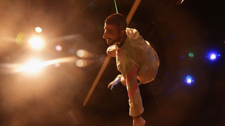 Palestinian circus brings a smile to children's faces in Jerusalem