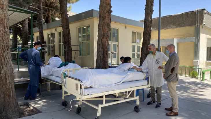 Afghanistan: Red Cross-supported health facilities treat more than 4,000 people wounded by weapons since 1 August