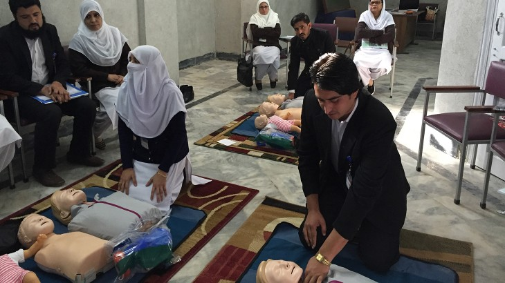 Peshawar's Lady Reading Hospital gains innovative nursing skills lab
