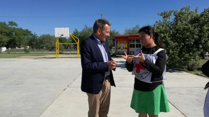 El presidente del CICR visita México