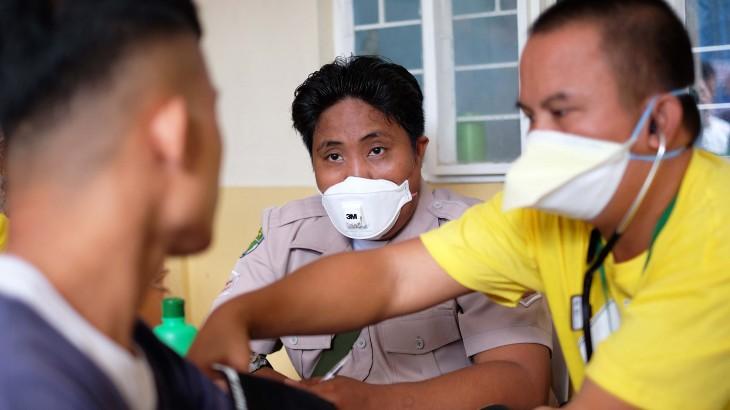 菲律宾:继续开展监所结核病防控工作