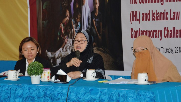 Protecting vulnerable groups during conflict