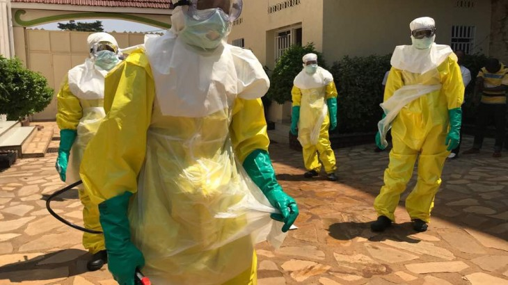 Outbreak: Fighting Ebola in a conflict zone