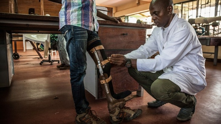 Guiné-Bissau: reabilitação física beneficia 1,8 mil pessoas