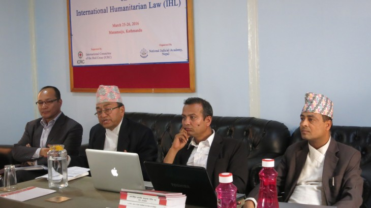 Nepal: Improving the effectiveness of international humanitarian law
