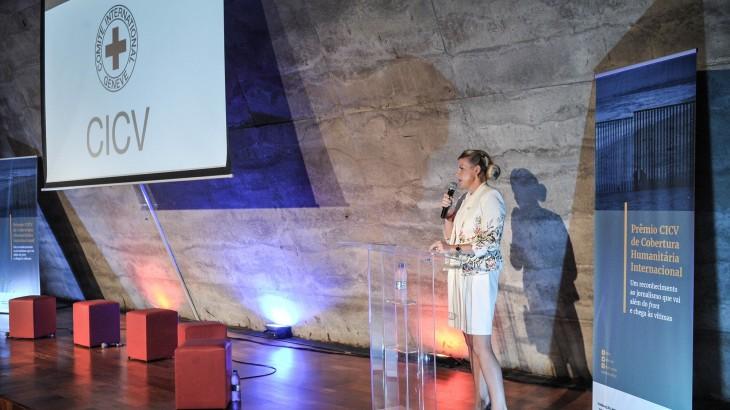 Prêmio de CICV de Cobertura Humanitária Internacional: discurso da chefe da Delegação Regional