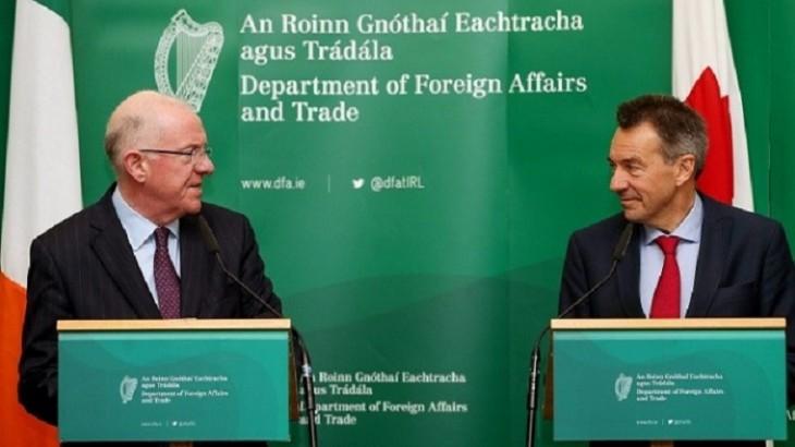 IKRK-Präsident stattet Irland den ersten Besuch ab
