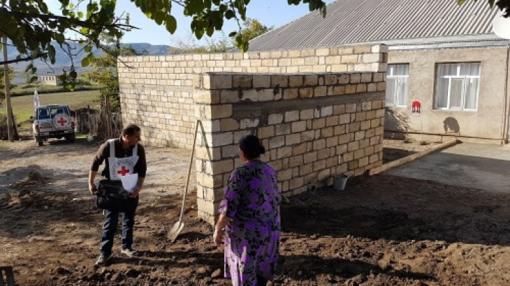 Our work in Azerbaijan between January and June 2017