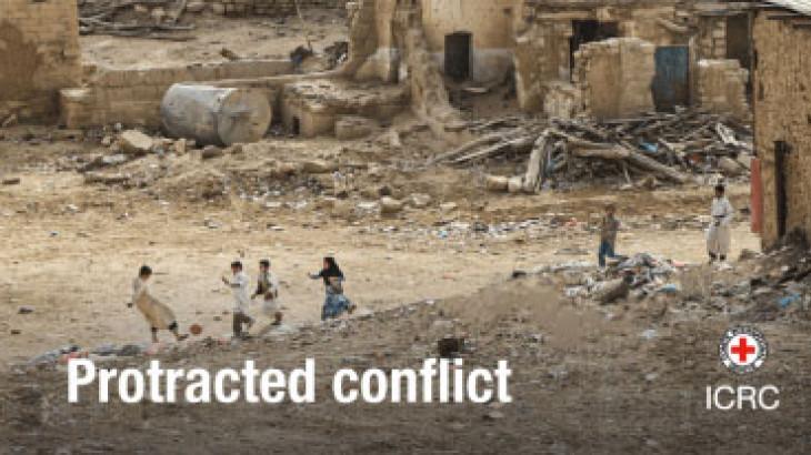 Международный журнал Красного Креста о затяжных вооруженных конфликтах