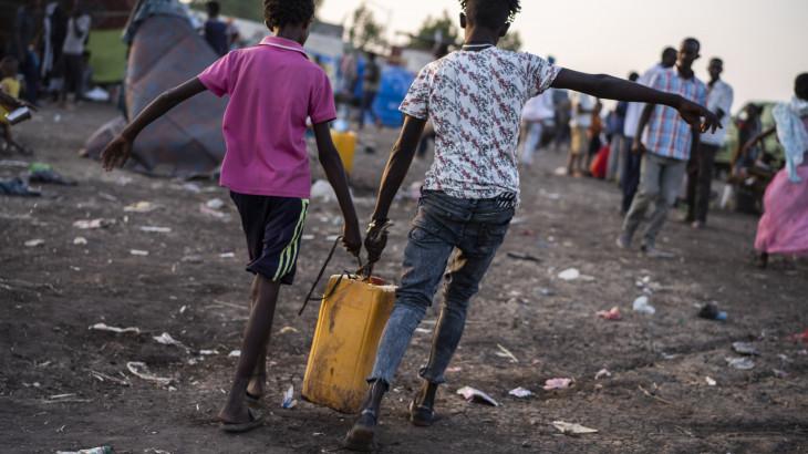 Sudão: refugiados etíopes enfrentam condições cada vez mais difíceis com intensificação de combates em Tigray