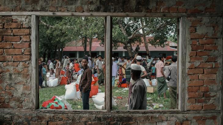 缅甸若开邦:克服重重困难,援助数万民众