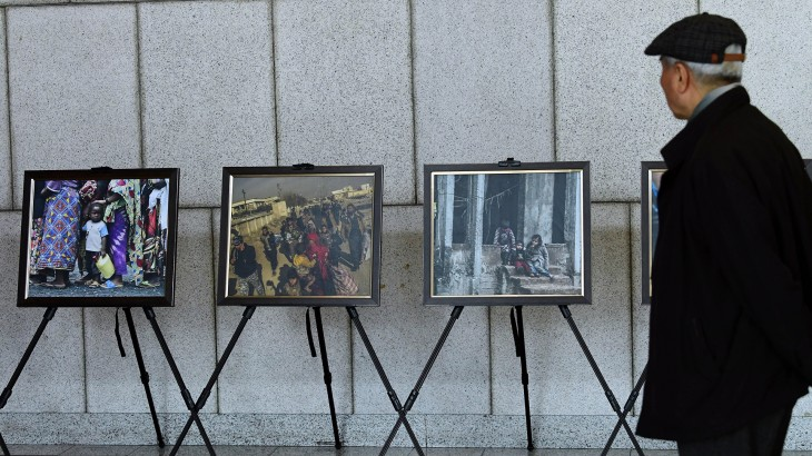 Republic of Korea: Exhibition on 'torn apart' lives of conflict affected people