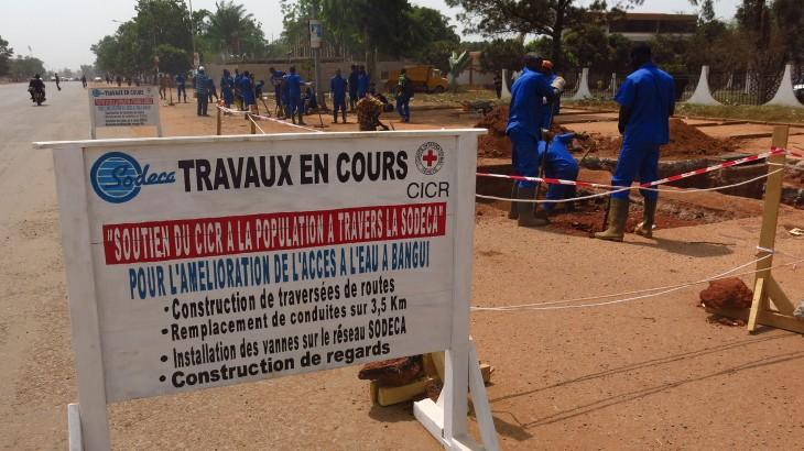 République centrafricaine : 400 000 personnes vont bénéficier d'un meilleur accès à l'eau potable à Bangui
