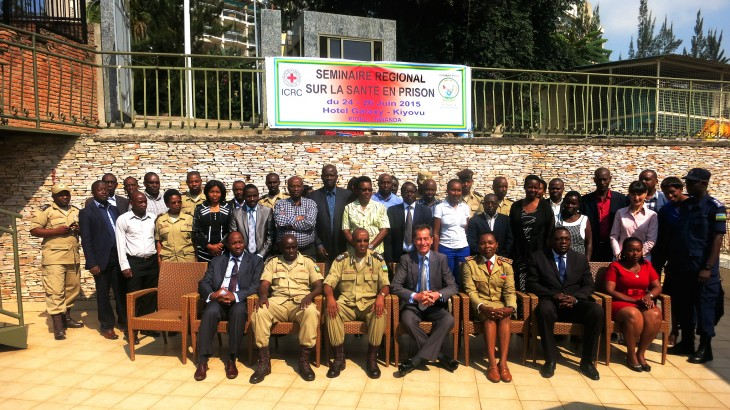 Rwanda: Regional seminar on health care in detention