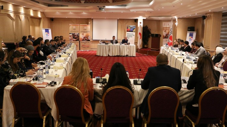 Jordan: Second regional meeting on restoring family links