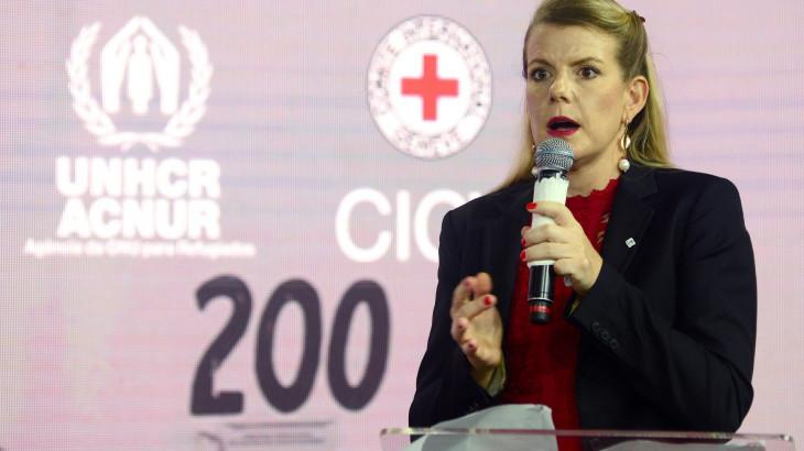 Prêmio de Cobertura Humanitária: Discurso da chefe de delegação regional do CICV