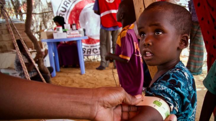 流动医疗组为索马里偏远地区民众提供医疗服务