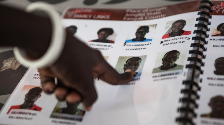 South Sudan's 'Facebook' for missing people