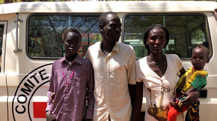 Across the border: Ethiopian boy reunited with family after four years in South Sudan