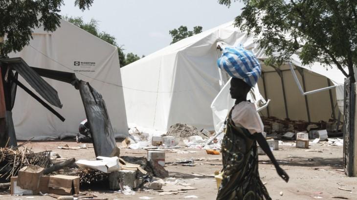 جنوب السودان: رحلة الفرار في لير