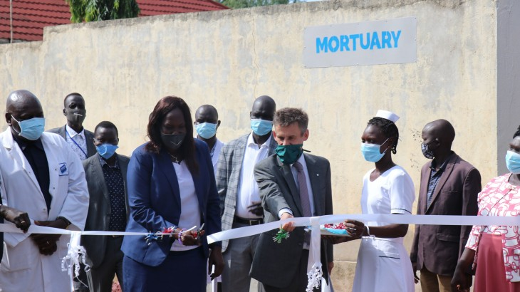 South Sudan's largest mortuary renovated to help families know fate of their loved ones