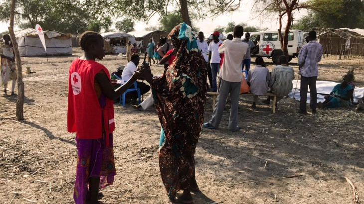 南苏丹:2500名因战争而离散的民众通过电话重建联系